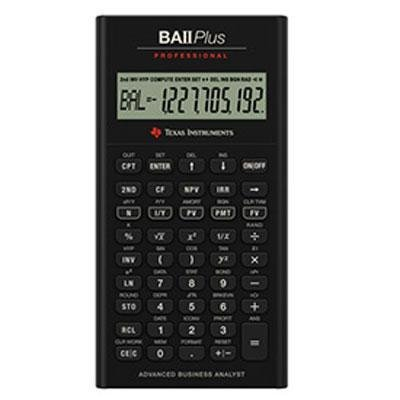 1 - TI BA II Plus Pro Calculator