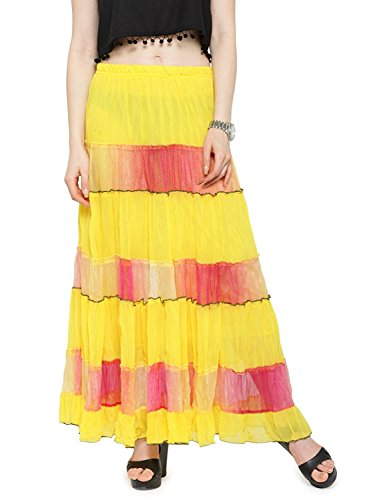Handicrfats Around Skirt Printed Cotton Women's Wrap Export Long Jaipuri free Fashionista Indian Size Designer 41B1wq