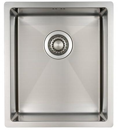 Lavello da cucina in acciaio inossidabile / lavandino MIZZO Linea 34 ...