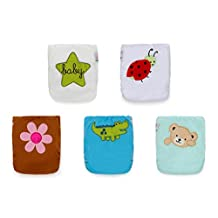20 KaWaii Baby One Size HD2 Embroidered Prints Pocket Cloth Diaper-Covers