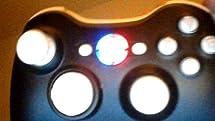 Xbox 360 controller led mod RING OF LIGHT LEDS- BLUE