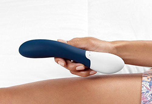 Rock Solid - Rechargeable Waterproof Heated Vibrating Wand Massager with Multiple Variable Speeds and Patterns by MyBF (Image #7)