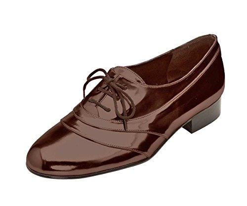 Marrón Dini con marrón zapatos Patrizia cordones Mujer Rq11X