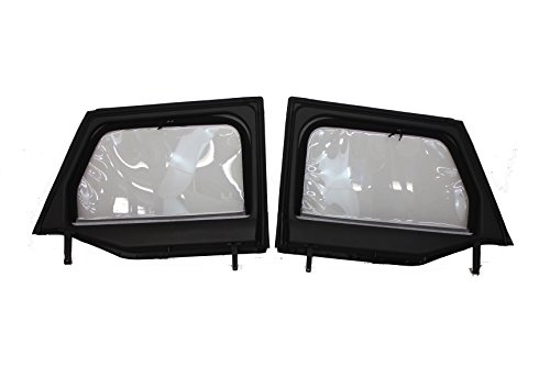 (Jeep Genuine Accessories 82212132 Front Upper Half Door Window)