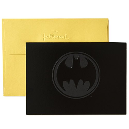 Hallmark Batman Blank Cards (10 Cards with Envelopes)