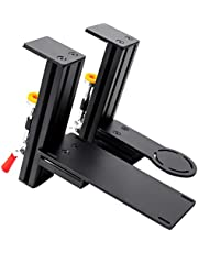 Meza Mount-Aluminium HOTAS Table Mount Compatible with Thrustmaster Hotas Warthog Joystick and Throttle(not Include Game-Device) (Black)