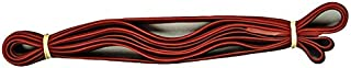 "product image for Alliance Rubber 2403204 Pallet Bands, 12 Extra Large 92"" Industrial Strength Heavy Duty Rubber Bands (92"" x 1"" x 1/16"", Red)"