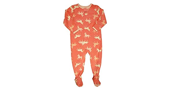 dd49708b28 Amazon.com  Carter s Infant   Toddler Girls Pink Horse Sleeper Pony Sleep    Play Pajamas 24m  Clothing