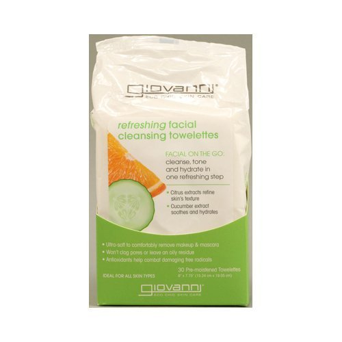 Refreshing Facial Cleansing Towelettes 30 Ct