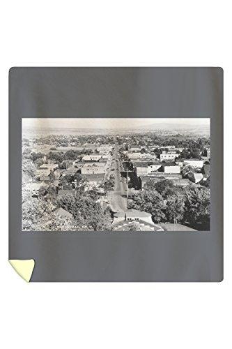 (Lantern Press View of Susanville, California Photograph 3091 (88x88 Queen Microfiber Duvet Cover))