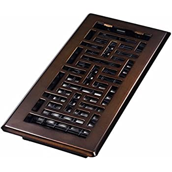 Accord amfrrbb410 floor register with wicker design 4 for Accord design decoration