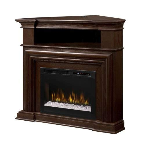 DIMPLEX Montgomery Media Console Electric Fireplace - Acrylic Ember - Corner Dimplex Fireplaces