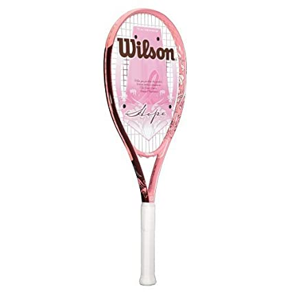 "Wilson HOPE Tennis Racquet (Colors May Vary, 4 1/2"")"