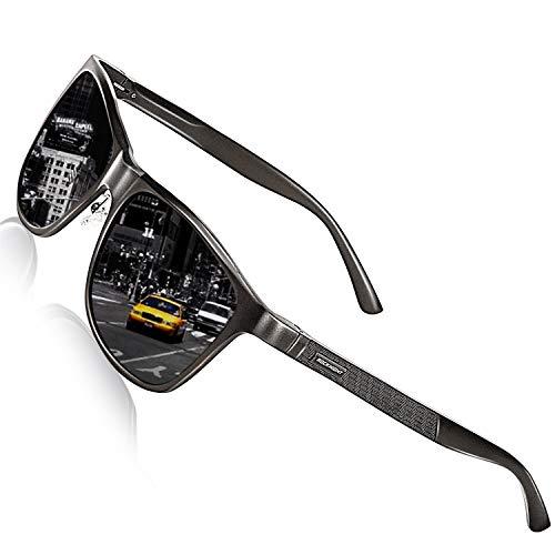 ROCKNIGHT Mens Sunglasses Polarized Shade for Men Bike Sunglasses Lightweight Outdoor Sunglasses UV ()