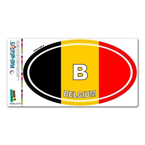 belgium refrigerator magnet - 4