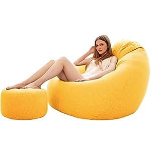 Amazon.com: Puf grande para jugador reclinable al aire libre ...