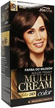 Joanna Multi Color Crema Pelo Dye 39,5 té bronce: Amazon.es ...