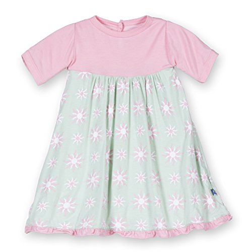 Kickee Pants Bamboo Swing Dress (18-24 Months, Aloe ()