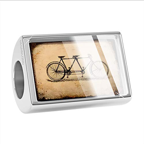 NEONBLOND Charm Tandem Bicycle Bead