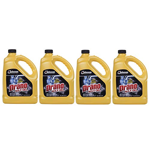 - Drano Max Gel Clog Remover, SCJ Professional, 128 fl oz (Pack of 4)
