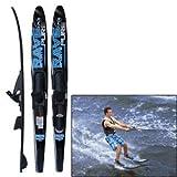 Rave Pure Combo Water Ski (Black/Blue)