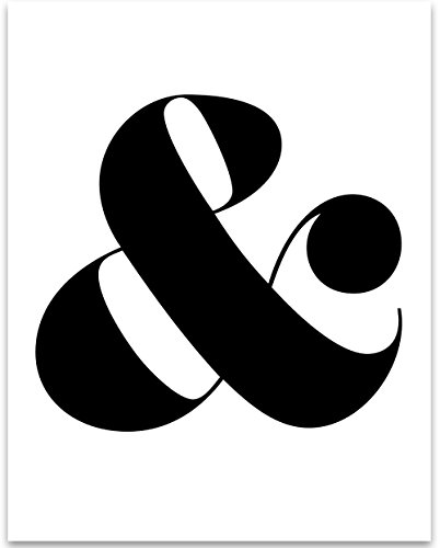 Cheap  Ampersand - 11x14 Unframed Typography Art Print - Great Home Decor