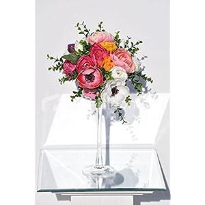 Vintage Bright Anemones Peonies & Anemones Floral Arrangement 11