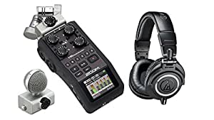 Zoom H6 Handy Recorder + Premium Headphone Pak