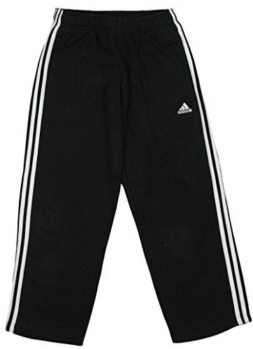 Adidas Youth Designator Fleece Pants (Youth Large, Black/ White)