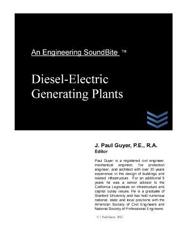 (Diesel-Electric Generating Plants (Engineering SoundBites))