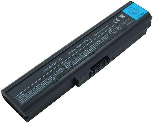 Laptop battery Toshiba PA3594U 6 Cells 10.8V 4400mAh/48wh, compatible partnumbers: TOSHIBA: PA3593U-1BAS, PA3594U-1BRS, PA3595U-1BRS, PABAS111, fit models: Dynabook CX/45C, Dynabook SS M40, Equium U300 Series, Portege M600 S eries, Satellite Pro U300 Series