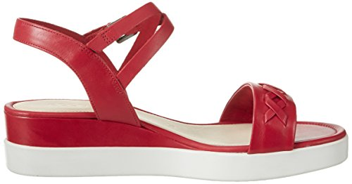 ECCO Ecco Touch Sandal Plateau - Sandalias Mujer Rot (1466CHILI RED)