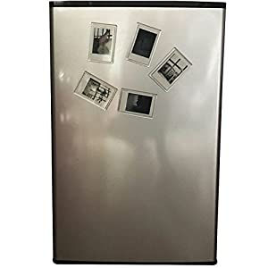 Blummy 5 pcs Acrylic Fridge Magnetic Photo Frame for Fujifilm Instax 8 8s 9 25 26 50s 70 7s 90 Film /Cards /Memos /HP pocket Photo Paper /2x3 Photo