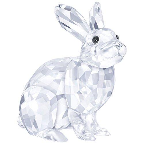 Easter Bunny Rabbit Figurine - Swarovski Crystal Adorable Sitting Rabbit Easter Bunny Figurine New for 2017 #5266232