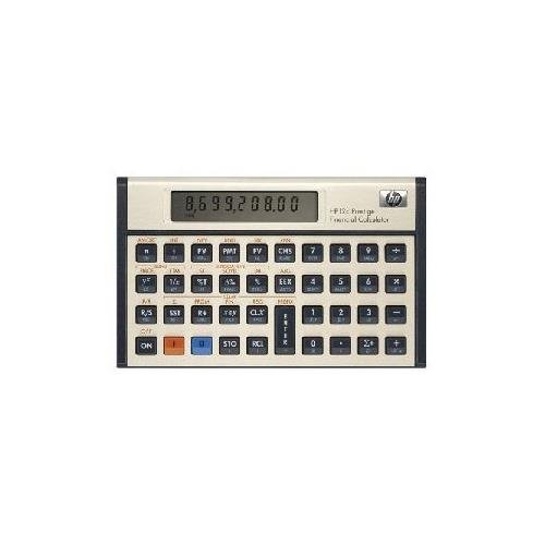 Hewlett Packard HP 12c Financial Calculator 120 Functions - 1 Line(s) - 10 Character(s) - LCD - Battery Powered (Retail) 12C#ABA