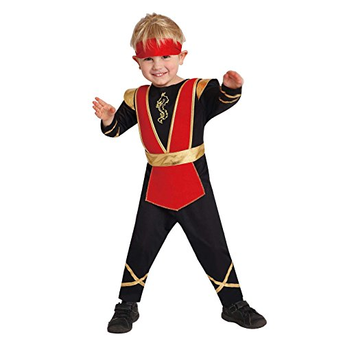 Totally Ghoul Lil' Ninja Costume, Toddlers 2-4 years (Toddler Ninja Costume)
