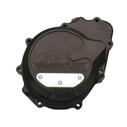 Woodcraft Left Billet Case Cover for ZX6R/RR, 60-0140LB