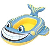 BESTWAY INFLATABLE CLOWN FISH BOAT FLOAT SWIMMING POOL TOYS BEACH LOUNGER LILO RAFT