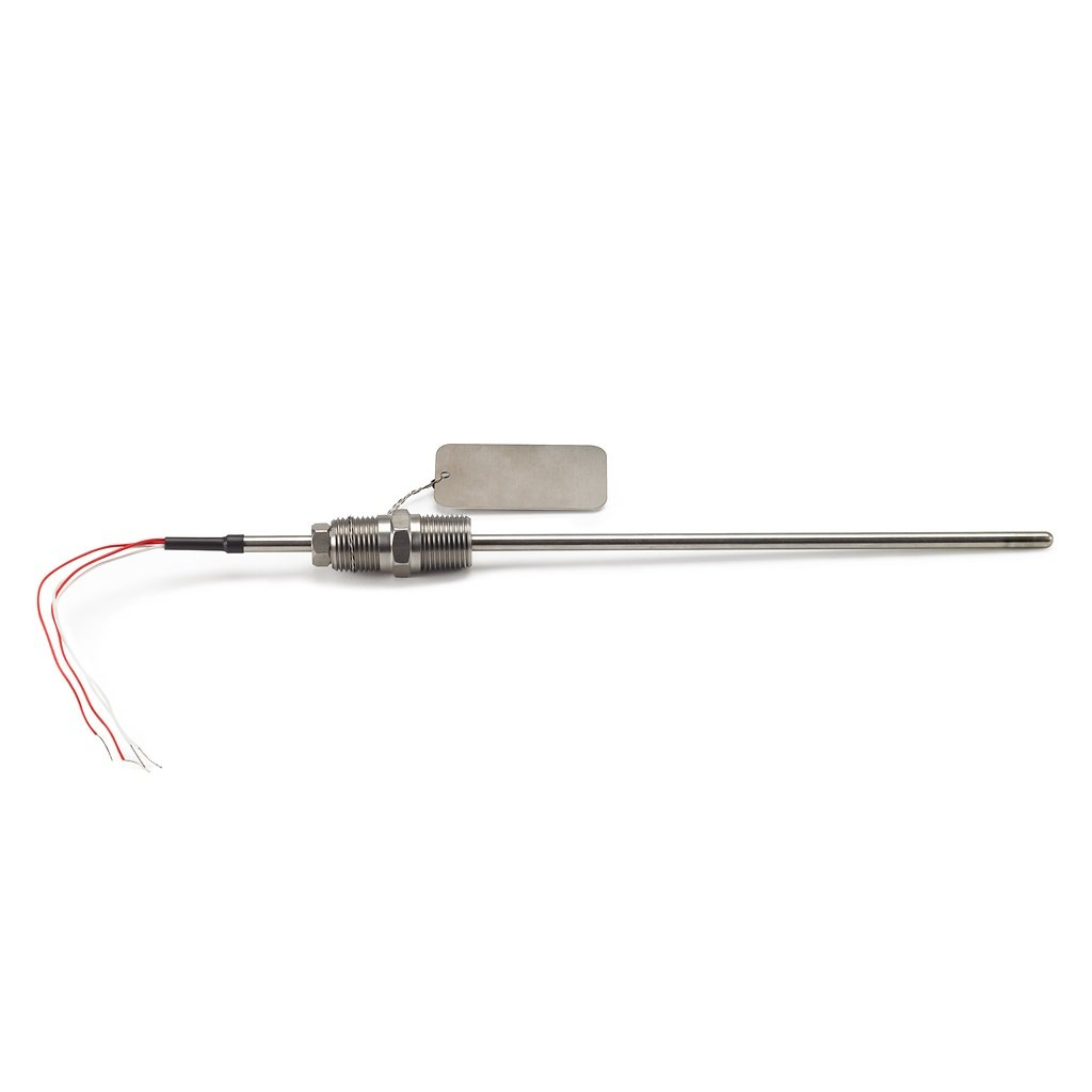 Rosemount 58CP3600SNN Cut-to-Fit RTD Temperature Sensor, Aluminum connection head, six terminals, 36-in., Spring-loaded fitting 1/2–14 ANPT