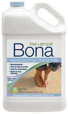 Bona® 160oz Free & Simple Hardwood Floor Cleaner Refill