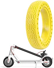 GLDYTIMES FEC 8.5 Inch Solid Tire Honeycomb Wheel Replacement for Electric Scooter Xiaomi Mi m365 / gotrax gxl