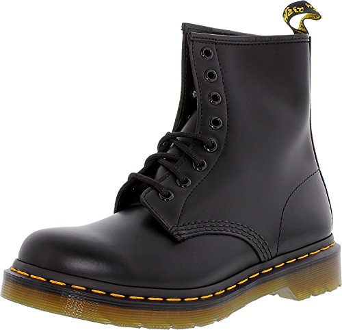 Dr. Marten's Women's 1460 8-Eye Patent Leather Boots, Black Smooth Leather, 10 B(M) US Women / 9 D(M) US Men by Dr. Martens