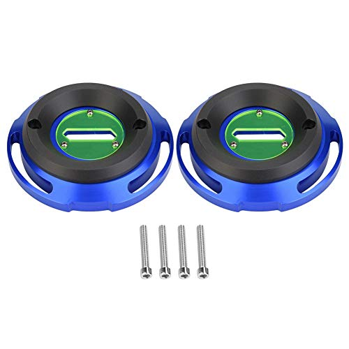 EBTOOLS 2 Pcs Motorcycle Engine Cover Guard Protection, Engine Cover Guard for T Max 530 2012-2016 (Blue):