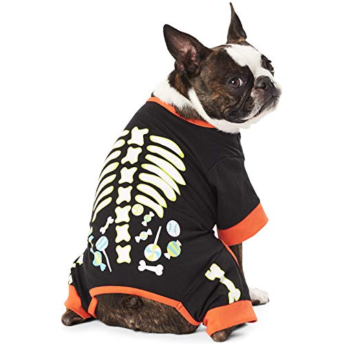Hotel doggy skeleton jammies.