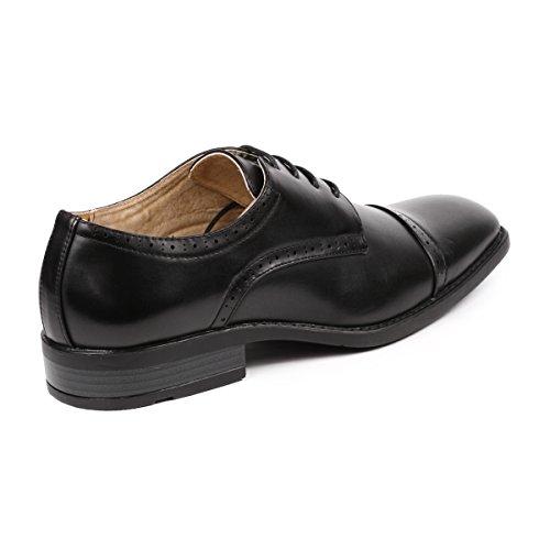 robe mc de les chaussures orteil noir metrocharm formelle classique de mc pac 9f9322