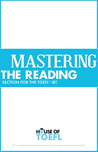 Mastering the Reading Section for the TOEFL iBT by [Spratt, Kathy]