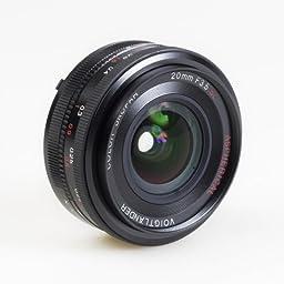 Voigtlander Color Skopar 20mm f/3.5 SL-II Aspherical Manual Focus Lens for Nikon Film & Digital Cameras