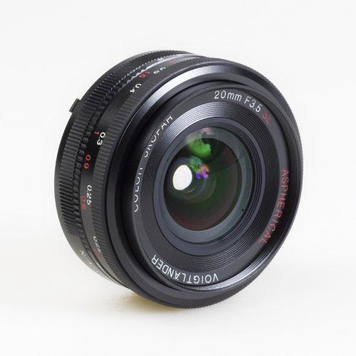Voigtlander Color Skopar 20mm f/3.5 SL-II Aspherical Manual - Voigtlander Nikon Lens