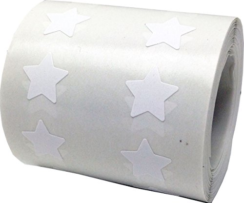 Party Supplies Salt Lake City Utah (White Star Shape Stickers Teacher Supplies 1/2 Inch 1,000 Adhesive Labels)