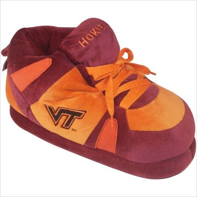 Virginia Tech Hokies Comfy Feet - Comfy Feet NCAA Sneaker Boot Slippers